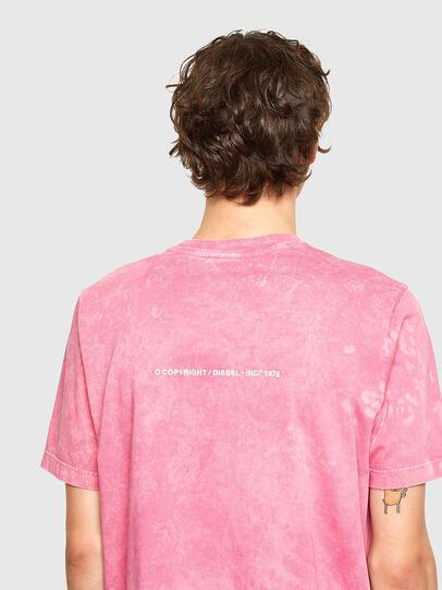 Diesel - T-JUST-E2, Rosa - Camisetas - Image 3
