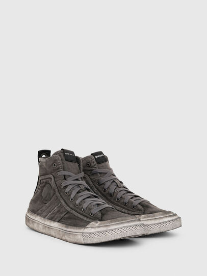 Diesel - S-ASTICO MID LACE, Gris oscuro - Sneakers - Image 2