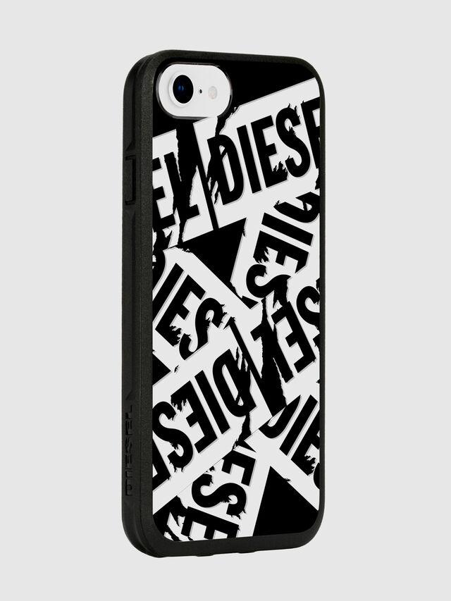Diesel - MULTI TAPE BLACK/WHITE IPHONE 8/7/6S/6 CASE, Negro - Fundas - Image 6