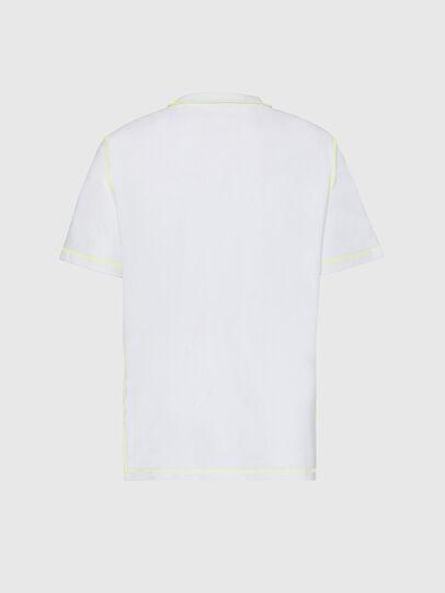 Diesel - T-JUSEAM, Blanco - Camisetas - Image 2
