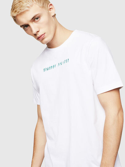 Diesel - T-JUST-A4, Blanco - Camisetas - Image 4