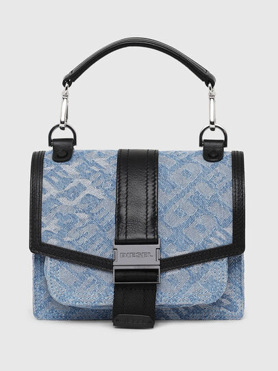 Diesel - MISS-MATCH CROSSBODY, Blue Jeans - Bolso cruzados - Image 1