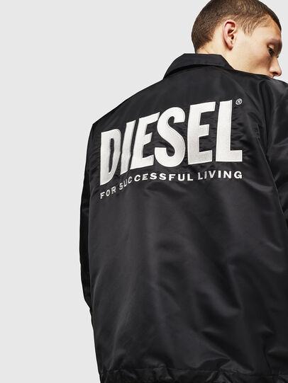 Diesel - J-AKIO-A, Negro - Chaquetas - Image 2