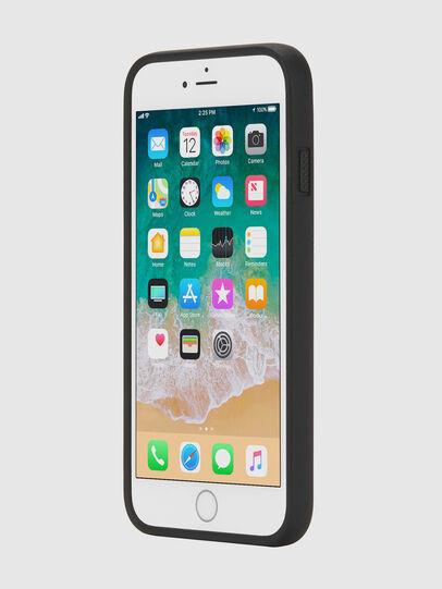 Diesel - MULTI TAPE BLACK/WHITE IPHONE 8 PLUS/7 PLUS/6S PLUS/6 PLUS CASE, Negro - Fundas - Image 3
