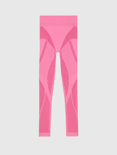 Diesel - UFLB-LEGGINGS-SML, Rosa - Pantalones - Image 1