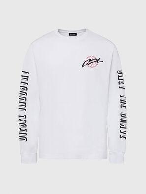 T-JUST-LS-X92, Blanco - Camisetas