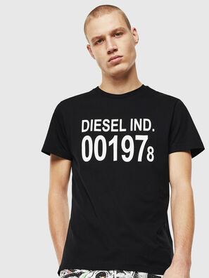 T-DIEGO-001978, Negro/Blanco - Camisetas