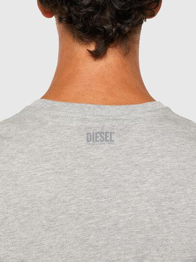 Diesel - T-DIEGOS-N28, Gris - Camisetas - Image 4