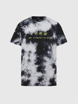 T-JUST-SLITS-X86, Negro/Blanco - Camisetas