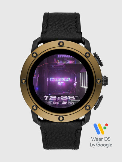 Diesel - DT2016, Negro/Bronce - Smartwatches - Image 1