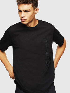 T-JUST-POCKET-J1, Negro - Camisetas