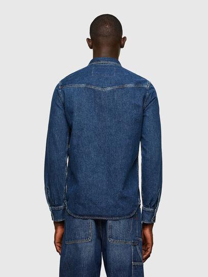 Diesel - D-EAST-P1, Azul - Camisas de Denim - Image 2