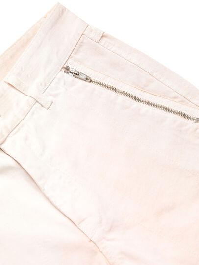 Diesel - GR02-P303, Blanco - Shorts - Image 4