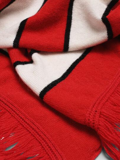 Diesel - K-PIX, Rojo/Blanco - Bufandas - Image 3