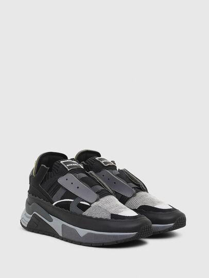Diesel - S-BRENTHA DEC, Negro/Gris - Sneakers - Image 2