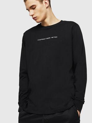 T-JUST-LS-COPY, Negro - Camisetas