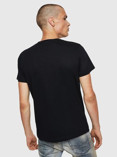 Diesel - T-DIEGO-BX1, Negro - Camisetas - Image 2