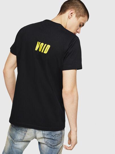 Diesel - T-DIEGO-A11, Negro/Amarillo - Camisetas - Image 2