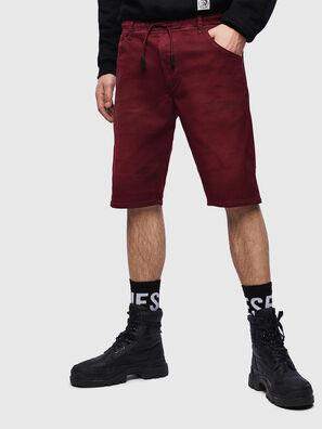 D-KROOSHORT JOGGJEANS, Burdeos - Shorts