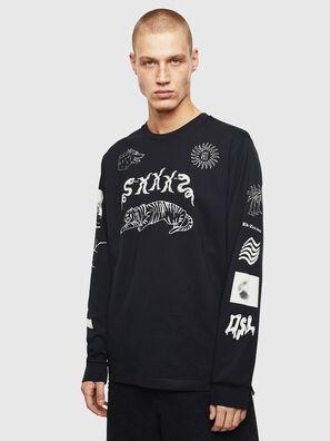 T-JUSTLY, Negro - Camisetas