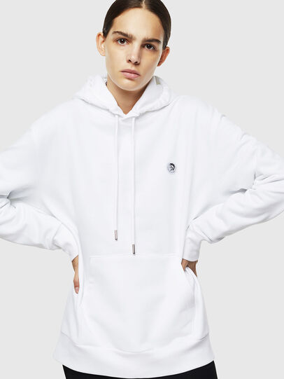 Diesel - S-AFTER, Blanco - Sudaderas - Image 2