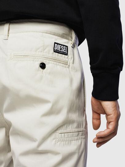 Diesel - P-MATTHEW, Blanco - Shorts - Image 3