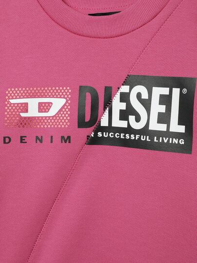 Diesel - SGIRKCUTYB-FL-R, Rosa - Sudaderas - Image 3