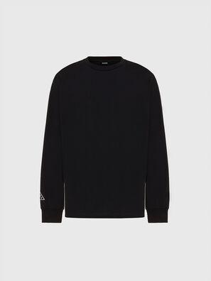 T-JUST-LS-X90, Negro - Camisetas