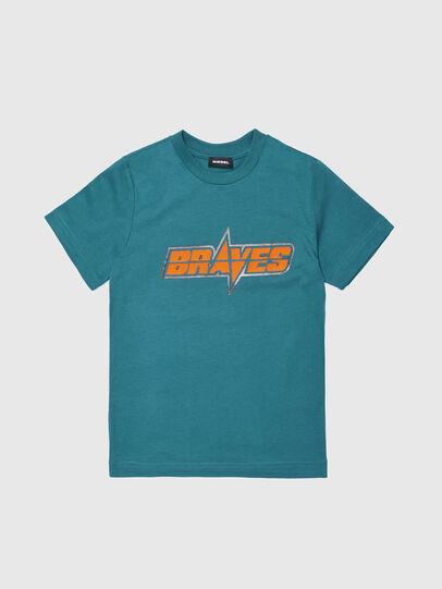 Diesel - TSILYWG, Verde Agua - Camisetas y Tops - Image 1
