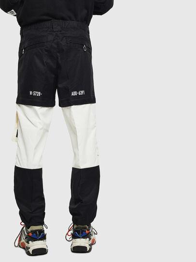 Diesel - P-MELTY, Negro/Blanco - Pantalones - Image 2