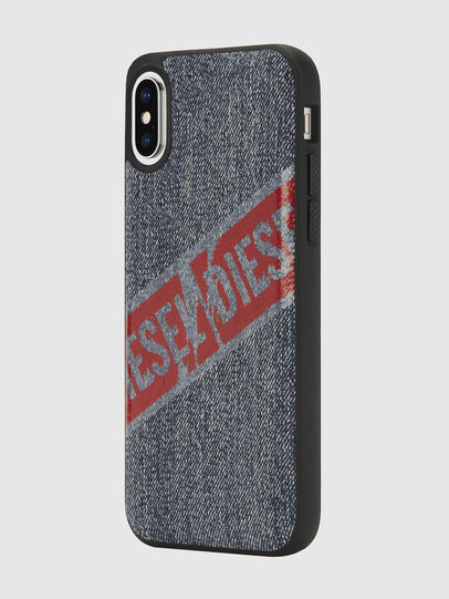 Diesel - VINTAGE DENIM IPHONE X CASE, Blue Jeans - Fundas - Image 5