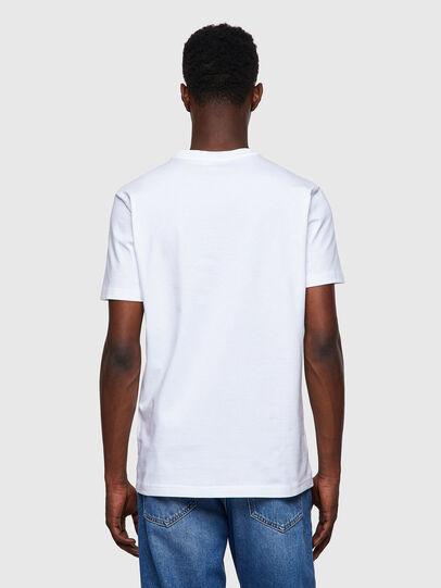 Diesel - T-DIEGOS-B8, Rojo/Blanco - Camisetas - Image 2
