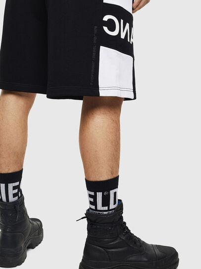 Diesel - P-SHAM, Negro/Blanco - Shorts - Image 4
