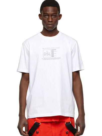 Diesel - T-JUST-A35, Blanco - Camisetas - Image 1