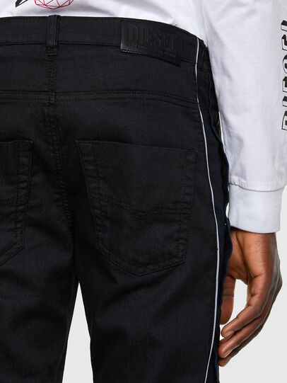 Diesel - Krooley JoggJeans 0KAYO, Negro/Gris oscuro - Vaqueros - Image 5