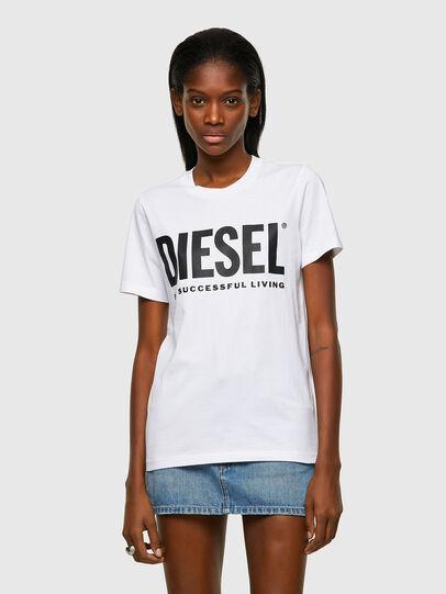 Diesel - T-SILY-ECOLOGO, Blanco - Camisetas - Image 1