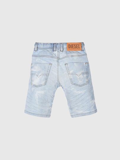 Diesel - KROOLEY-NE-J SH, Azul Claro - Shorts - Image 2