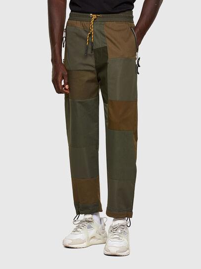 Diesel - P-HOR, Verde Militar - Pantalones - Image 1