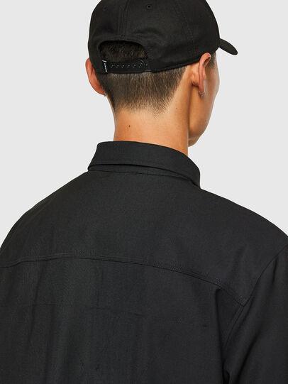 Diesel - S-HOTEL, Negro - Camisas - Image 4