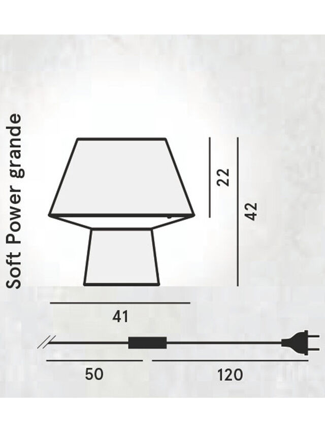 Diesel - SOFT POWER GRANDE, Negro - Lámparas de Sombremesa - Image 2