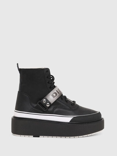 Diesel - H-SCIROCCO STRAP, Negro - Sneakers - Image 1