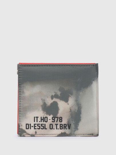 Diesel - HIRESH S SP, Gris/Naranja - Monederos Pequeños - Image 2