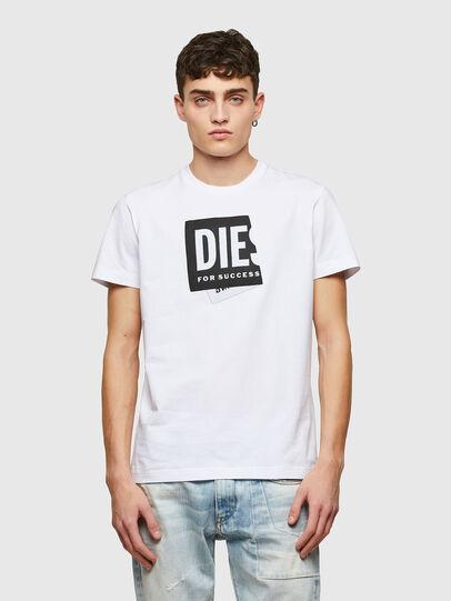 Diesel - T-DIEGOS-LAB, Blanco - Camisetas - Image 1