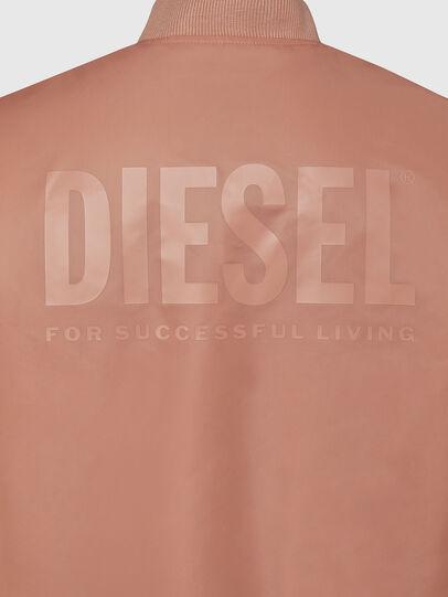 Diesel - J-ROSS-REV, Rosa - Chaquetas - Image 5