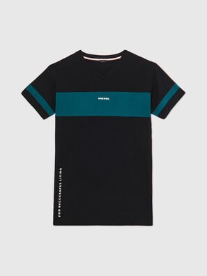 UFTEE-CHEERLY, Negro/Azul - Camisetas