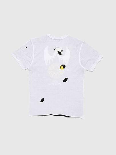 Diesel - TJUSTLAY, Blanco/Negro - Camisetas y Tops - Image 2