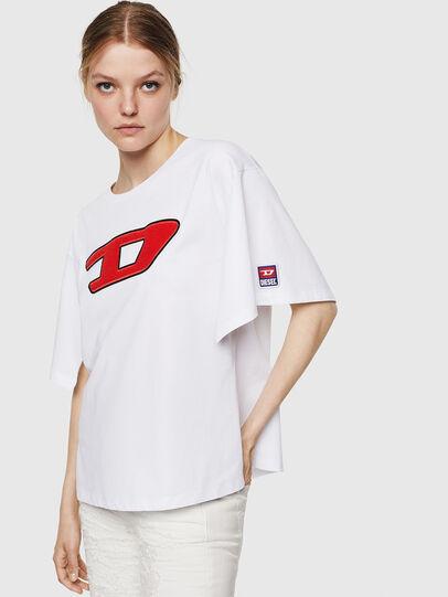 Diesel - T-JACKY-I, Crema - Camisetas - Image 1