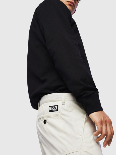 Diesel - P-MATTHEW, Blanco - Shorts - Image 4