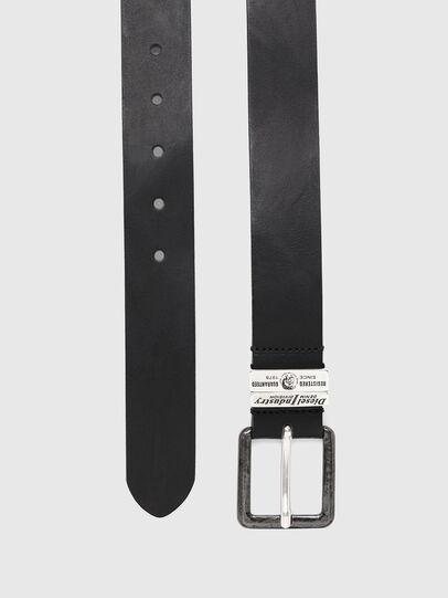 Diesel - B-GUARANTEE, Negro - Cinturones - Image 3