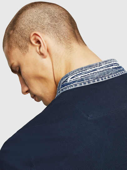 Diesel - T-MILES-NEW, Azul Oscuro - Polos - Image 3